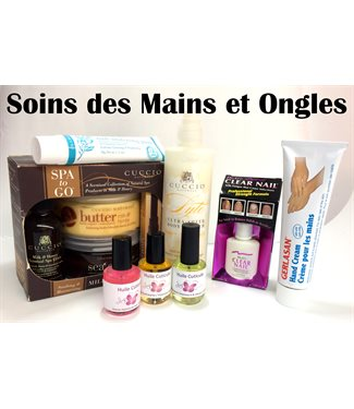 Soins mains & ongles