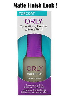 ORLY MATTE TOP COAT