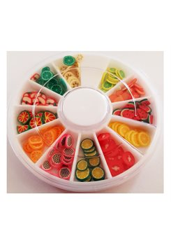 Fimo Fruits Wheel