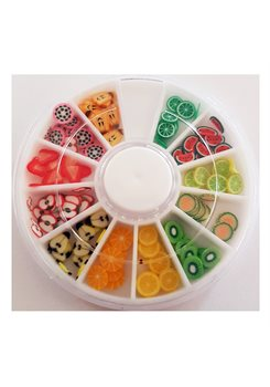 Fimo Fruits Wheel 2