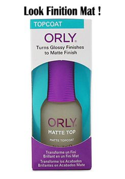 ORLY TOP COAT MAT