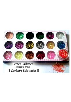 Rhombus Glitters sequins * 18 colors